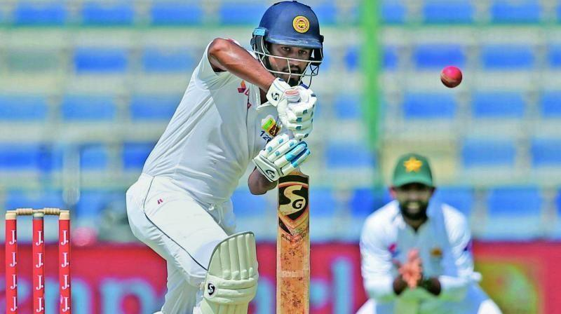 Karunaratne outscored the entire South African team at Galle
