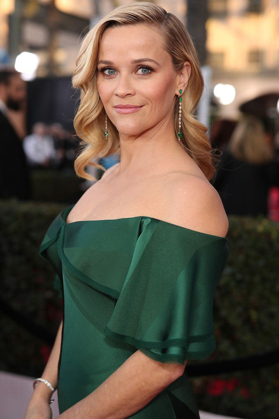 "<p><strong>Born</strong>: Laura Jeanne Reese Witherspoon</p><p>Early in <a href=""https://www.vogue.com.au/celebrity/news/to-whom-it-may-concern-the-real-names-of-your-favourite-designers-celebrities-and-models/image-gallery/d39ada4da1dbc8d79f84209f95ea897b?pos=2"" rel=""nofollow noopener"" target=""_blank"" data-ylk=""slk:her career"" class=""link rapid-noclick-resp"">her career</a>, then-Laura Jeanne adopted her mother's maiden name as her first name.</p>"