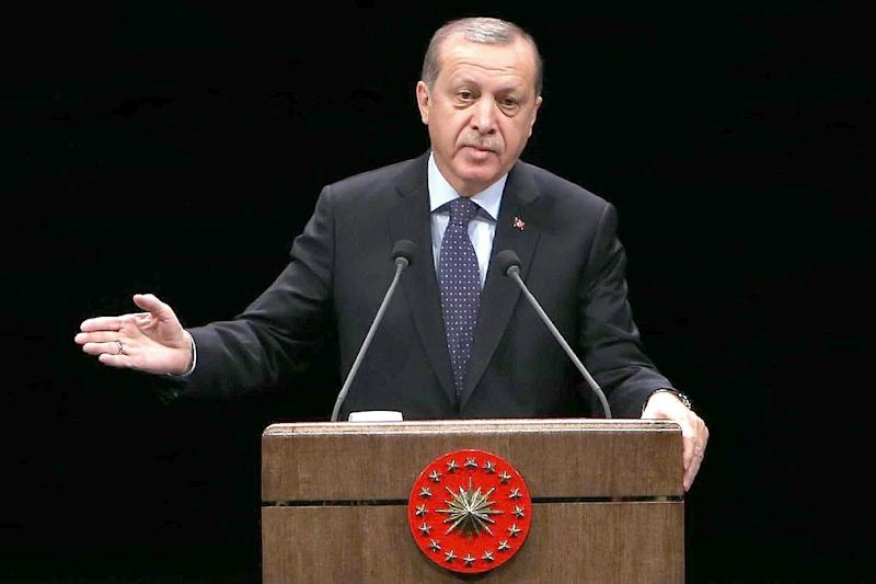 President Recep Tayyip Erdogan has hailed the strength of the Turkish lira (AFP Photo/Adem Altan)
