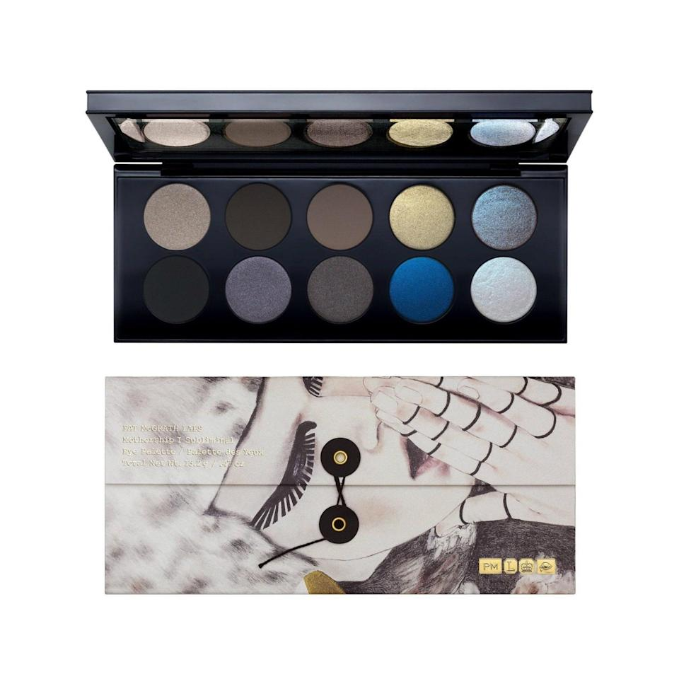 If you, like me, have become fully entranced watching Pat McGrath's mesmerizing makeup videos on Instagram, then you already know that when it comes to ultra-pigmented eye shadows, Mother is not messing around. Need proof? One swatch of the pigments in her Mothership palettes should do the trick.