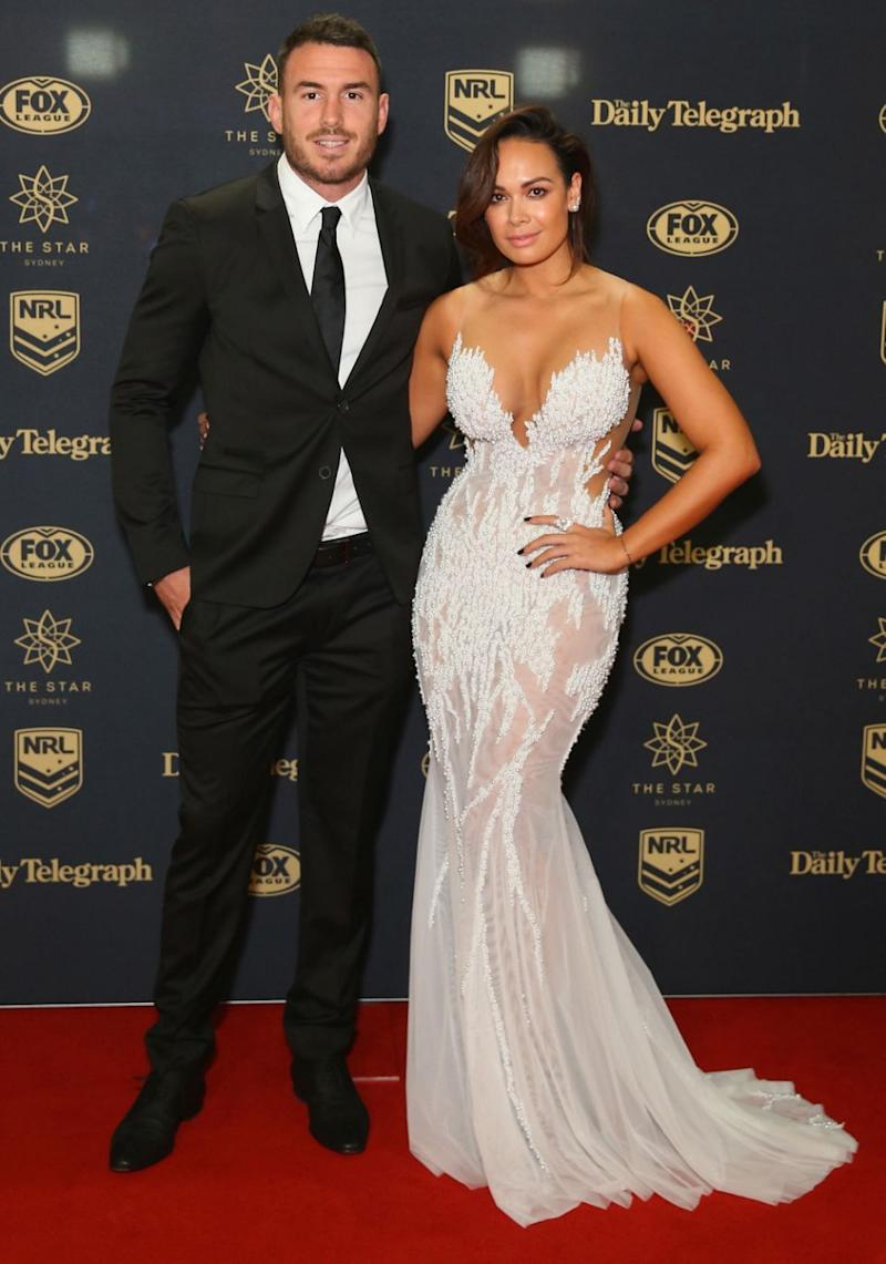 Brisbane Broncos captain Darius Boyd's wife Kayla also revealed a secret trick that can help you get away with a sheer dress with no visible pantyline drama.