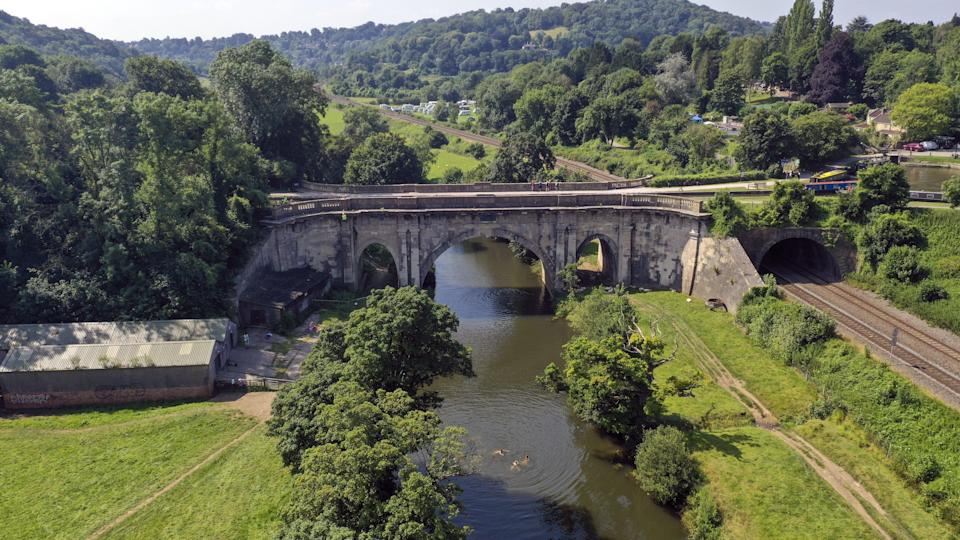 The Dundas Aqueduct was started in 1796 (Steve Parsons/PA) (PA Wire)