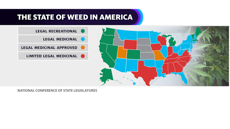 The State of Weed in America