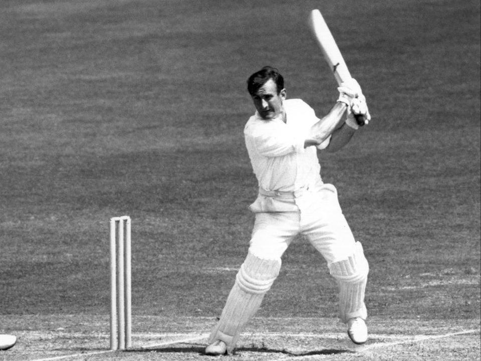 Ted Dexter batting against Australia at Hove in1964 (Getty Images)