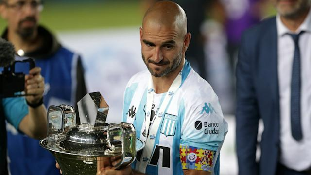 Lisandro Lopez Racing Campeon Superliga 201819