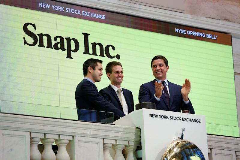 Snap +2.7% on Time Warner show development deal