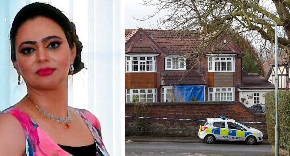 Sarbjit Kaur's body was discovered at her home last Friday (SWNS)