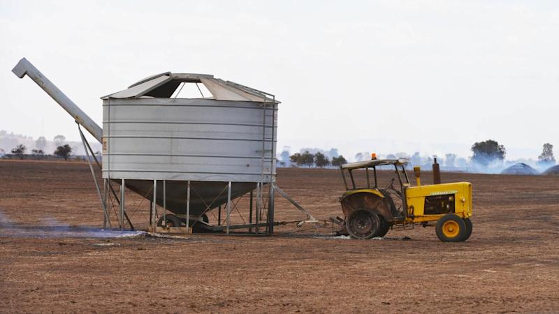 Grants of up to $75,000 will go to farmers to replace sheds, fences and equipment destroyed by fire