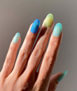 A matte top coat makes any color feel brand new. Just be sure to keep the color sheer for the beachy effect.