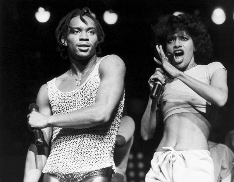 Gene Anthony Ray and Debbie Allen in 1983. (Photo: SSPL/Getty Images)