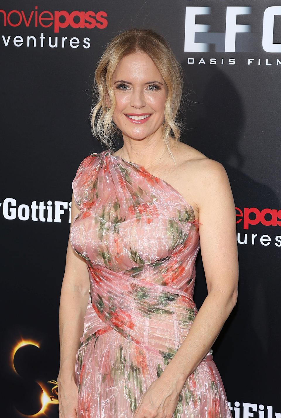 """<p>After a two-year battle with breast cancer, <a href=""""https://www.popsugar.com/celebrity/kelly-preston-dead-47611025"""" class=""""link rapid-noclick-resp"""" rel=""""nofollow noopener"""" target=""""_blank"""" data-ylk=""""slk:the actress died on July 12"""">the actress died on July 12</a>. She was 57. Following the news, Kelly's husband <a class=""""link rapid-noclick-resp"""" href=""""https://www.popsugar.com/John-Travolta"""" rel=""""nofollow noopener"""" target=""""_blank"""" data-ylk=""""slk:John Travolta"""">John Travolta</a>, posted <a href=""""https://www.popsugar.com/celebrity/john-travolta-tribute-to-kelly-preston-after-her-death-47611290"""" class=""""link rapid-noclick-resp"""" rel=""""nofollow noopener"""" target=""""_blank"""" data-ylk=""""slk:a heartfelt message on Instagram"""">a heartfelt message on Instagram</a>, writing, """"It is with a very heavy heart that I inform you that my beautiful wife Kelly has lost her two-year battle with breast cancer,"""" he wrote alongside an image of Kelly. """"She fought a courageous fight with the love and support of so many."""" </p>"""