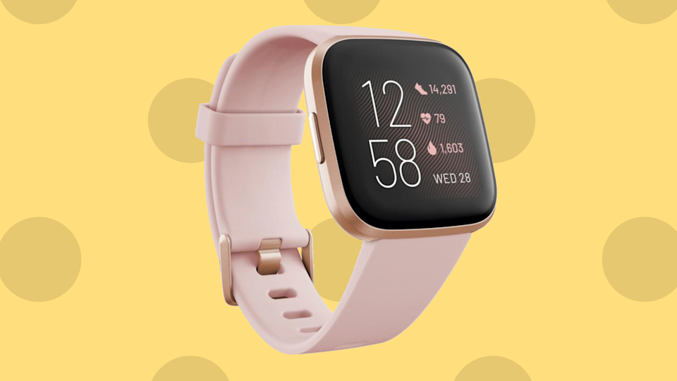 Ditch the Apple Watch! This FitBit smartwatch can do so much more! (Photo: HSN)