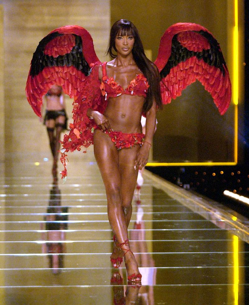 Naomi Campbell during the 8th Annual Victoria's Secret Fashion Show in 2002. (Photo: Getty Images)