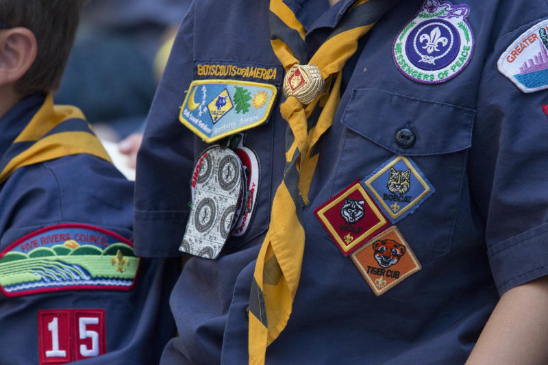 An expert hired by the Boy Scouts of America has said she identified 7,819 alleged abusers among its leaders and volunteers. (ASSOCIATED PRESS)
