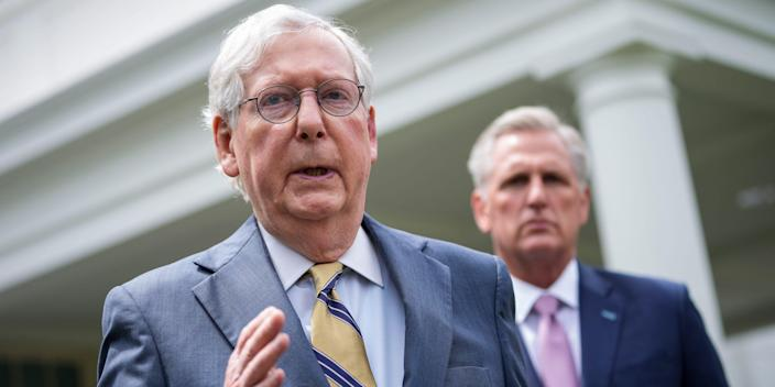 Mitch McConnell Kevin McCarthy White House