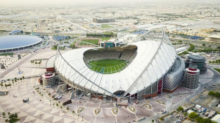 """The head of FIFA World Cup Qatar 2022 Nasser al-Khater says """"any fan, of any gender, orientation, religion, race (should) rest assured that Qatar is one of the most safe countries in the world -- and they'll all be welcome here"""" (AFP Photo/-)"""