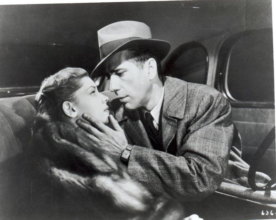 The years between 1929 and 1945 - when stars such as Humphrey Bogart graced the silver screen - have been labelled the 'Golden Age' of cinema   (File)