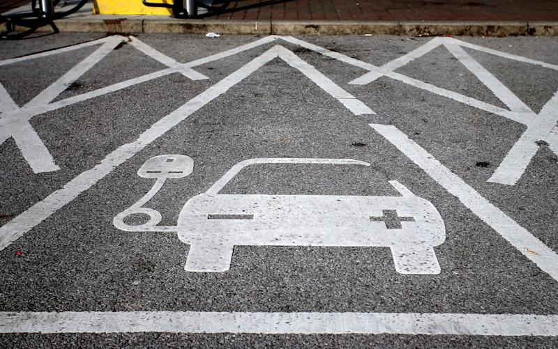 Shell has teamed up with Ionity, which is backed by major carmakers, to roll out high-speed charging across 80 of Shell's biggest European petrol stations - PA