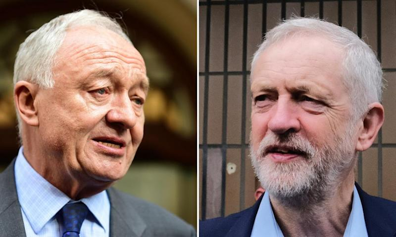 Ken Livingstone and Jeremy Corbyn