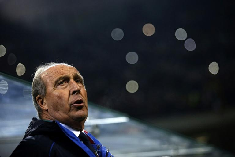 Italy's coach Gian Piero Ventura, pictured in 2016, has steered Italy to three wins and a draw in four 2018 World Cup qualifiers