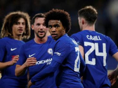 File image of Chelsea's Willian. Reuters