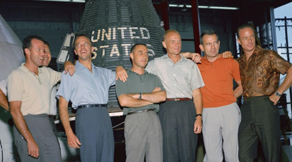 The arduous selection process of the Mercury Seven — NASA's first astronauts