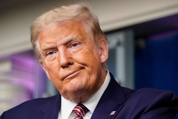 <p>Nearly half of GOP voters have said that they would vote for Donald Trump in 2024 Republican primary</p> (Photo by Joshua Roberts/Getty Images)