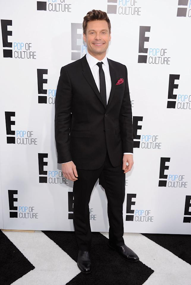 Ryan Seacrest attends E!'s 2012 Upfront event at Gotham Hall on April 30, 2012 in New York City.