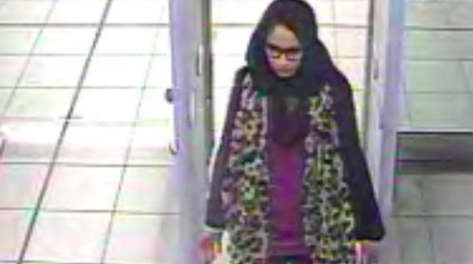 <em>Shamima Begum wants to return to the UK after she travelled to Syria to join Islamic State (Met Police)</em>