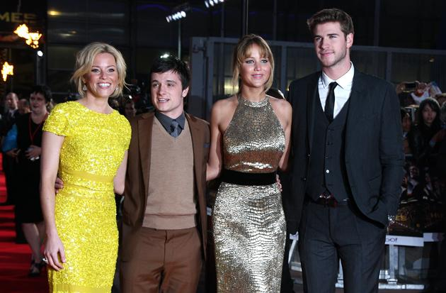 Hunger Games UK premiere photos: Elizabeth Banks, Josh Hutcherson, Jennifer Lawrence, Liam Hemsworth