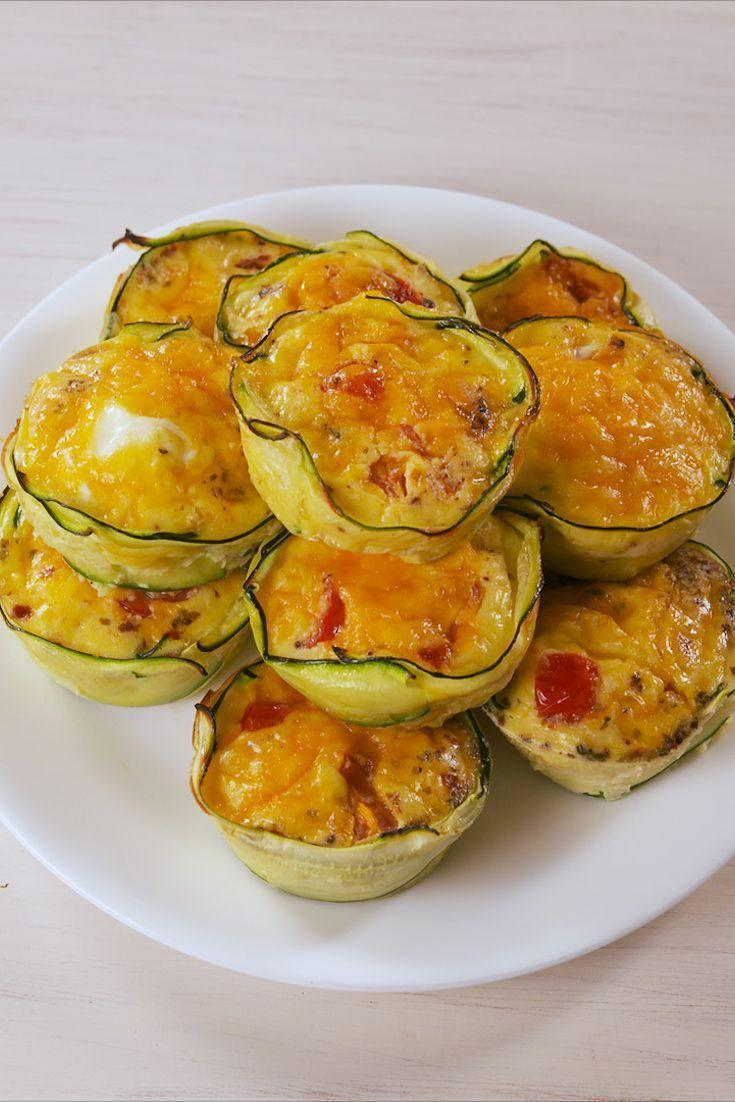 "<p>You ain't seen muffin yet.</p><p>Get the recipe from <a href=""https://www.delish.com/cooking/recipe-ideas/a19693511/zucchini-egg-cups-recipe/"" rel=""nofollow noopener"" target=""_blank"" data-ylk=""slk:Delish"" class=""link rapid-noclick-resp"">Delish</a>. </p>"