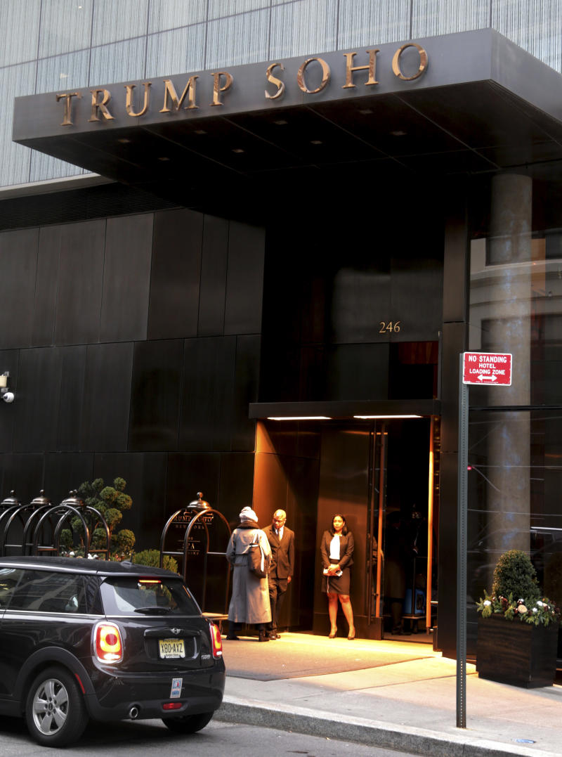 Trump SoHo to shed 'Trump' amid reports of sagging business