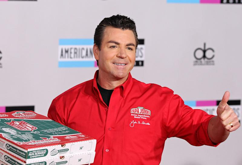 Schnatter is battling Papa John's board over his departure.