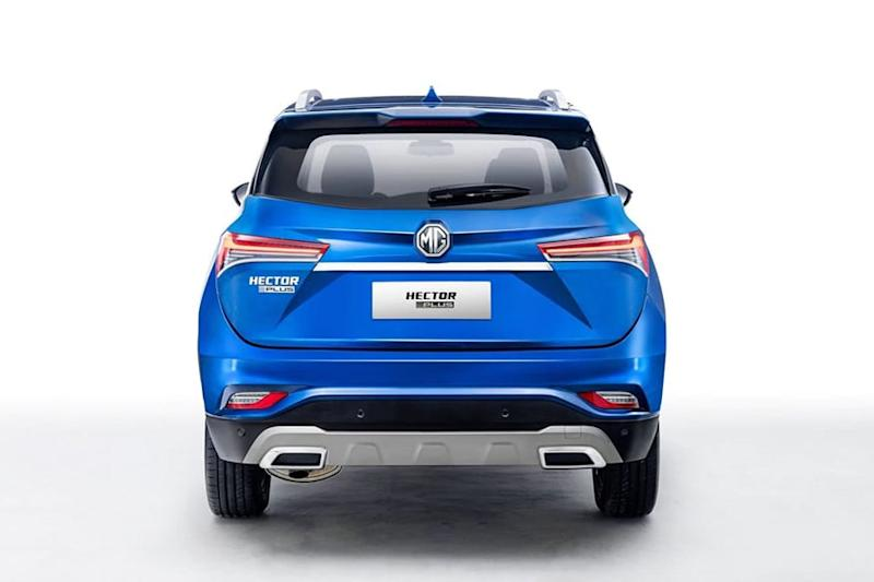MG Hector Plus rear profile. (Photo: MG Motor India)