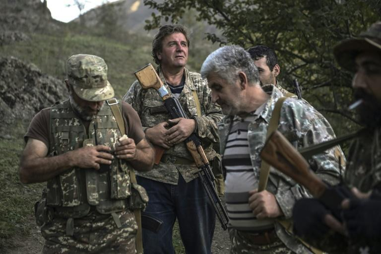 Villagers are volunteering to fight to repel Azerbaijani troops from moving to the strategic Lachin corridor