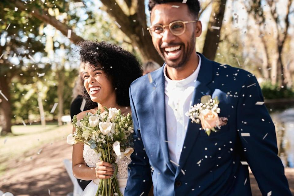 <p>Summerweddingswill come 'roaring back', but learn the etiquette before you attend, with TikTok's new trend</p> (Getty Images)