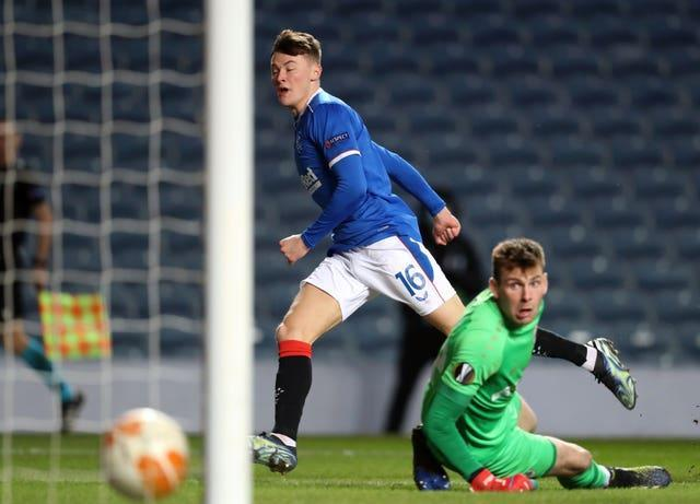 Nathan Patterson scores for Rangers