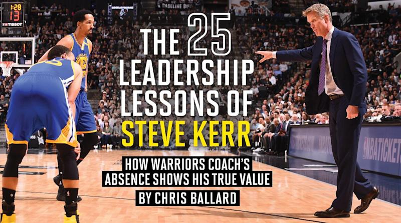 7370a06679e Steve Kerr s Absence  The True Test Of A Leader