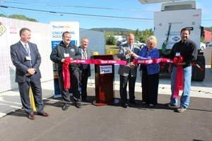Trillium CNG and Mirabito Energy Open CNG Fueling Station in Binghamton, N.Y.