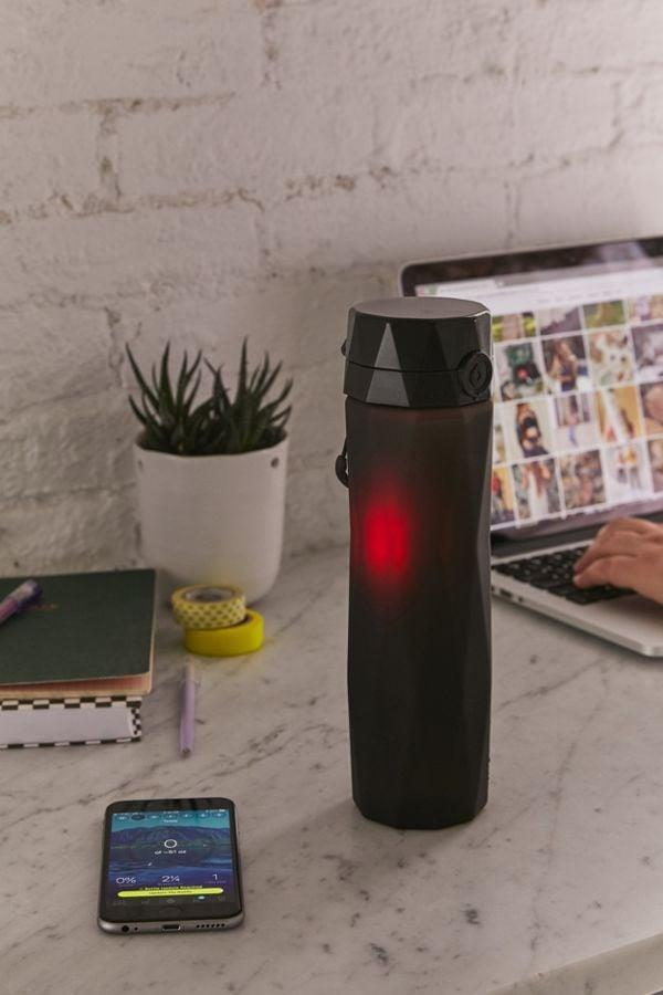 "<p>This Bluetooth-enabled <a href=""https://www.popsugar.com/buy/Hidrate-Spark-20-Smart-Water-Bottle-378502?p_name=Hidrate%20Spark%202.0%20Smart%20Water%20Bottle&retailer=urbanoutfitters.com&pid=378502&price=45&evar1=moms%3Aus&evar9=44234476&evar98=https%3A%2F%2Fwww.popsugar.com%2Ffamily%2Fphoto-gallery%2F44234476%2Fimage%2F45441744%2FHidrate-Spark-20-Smart-Water-Bottle&list1=shopping%2Cgifts%2Choliday%2Cstocking%20stuffers%2Cchristmas%2Cgift%20guide%2Cshoppping%2Cgifts%20for%20women%2Cgifts%20for%20men&prop13=mobile&pdata=1"" class=""link rapid-noclick-resp"" rel=""nofollow noopener"" target=""_blank"" data-ylk=""slk:Hidrate Spark 2.0 Smart Water Bottle"">Hidrate Spark 2.0 Smart Water Bottle</a> ($45) connects to your phone and tracks your daily water intake.</p>"