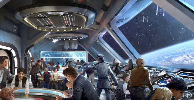 """The new """"Star Wars"""": Galactic Starcruiser experience in Orlando is described as """"an immersive experience."""" (Photo: Disney Parks via YouTube)"""