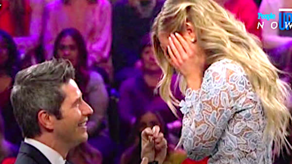 'Bachelor' Arie Luyendyk Jr. And Lauren Burnham Get Engaged
