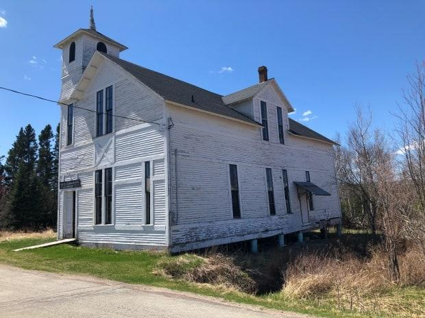 Harvey Hall is located in Albert County. It was built in 1884. (Gary Moore/CBC - image credit)