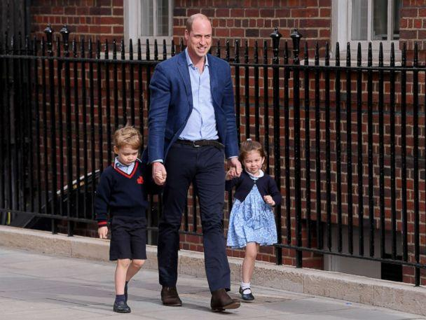 Prince George, Princess Charlotte Share A Sweet Moment While Visiting Third Sibling
