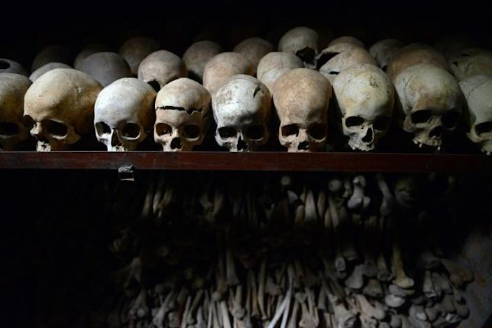 The genocide saw around 800,000 people slaughtered, mainly from the ethnic Tutsi minority, in 1994