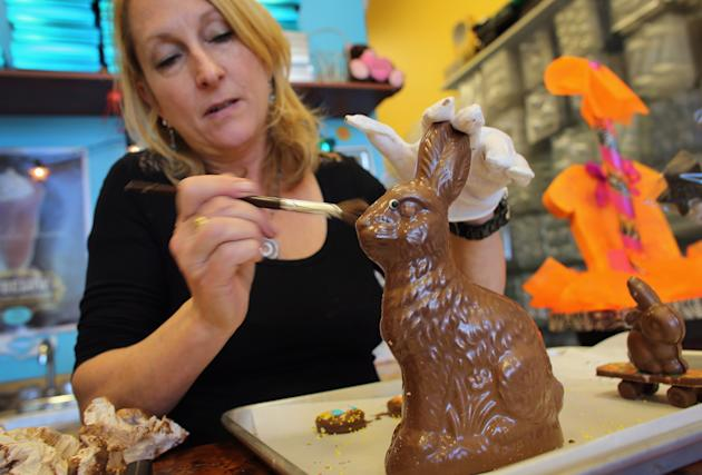 He may look cute, but if you're eating this bunny in February, it's probably too early. (Getty Images)