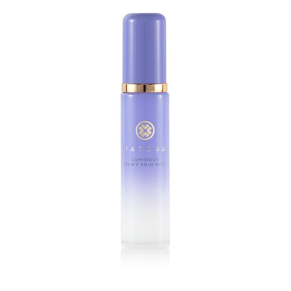 """<p><strong>Tatcha</strong></p><p>amazon.com</p><p><strong>$48.00</strong></p><p><a href=""""https://www.amazon.com/dp/B018IWL406?tag=syn-yahoo-20&ascsubtag=%5Bartid%7C10072.g.36789682%5Bsrc%7Cyahoo-us"""" rel=""""nofollow noopener"""" target=""""_blank"""" data-ylk=""""slk:Shop Now"""" class=""""link rapid-noclick-resp"""">Shop Now</a></p><p>Summertime is all about the dew factor, so why not level it up with this mist? It's ultra-fine, meaning it doesn't feel like an attack on your face, plus it's infused with skincare ingredients to actually help your face.</p>"""