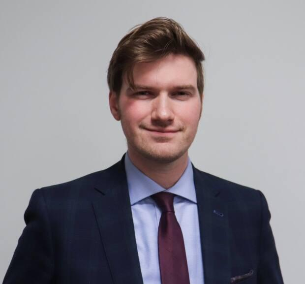 Kristopher Kinsinger is a lawyer who is doing his master's degree at McGill University's Faculty of Law, with an expertise in freedom of religion.