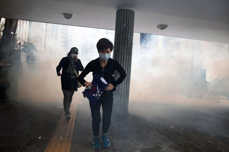 Moody's Downgrades Hong Kong for 'Inertia' Over Protests