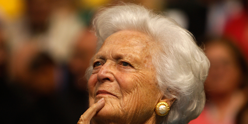 Former first lady Barbara Bush declines further medical treatment